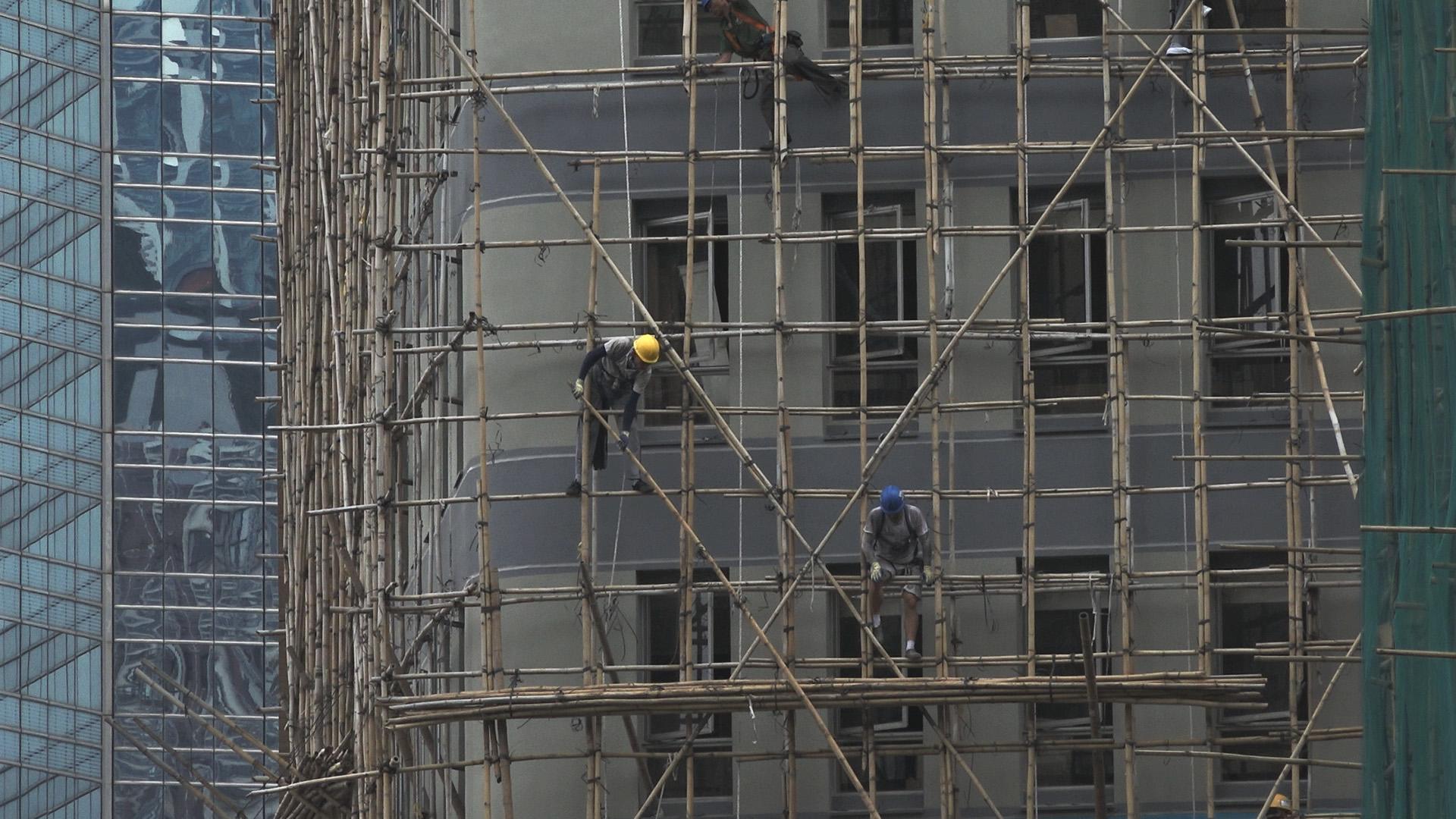 AFreeman_Scaffolding Removal_Hong Kong